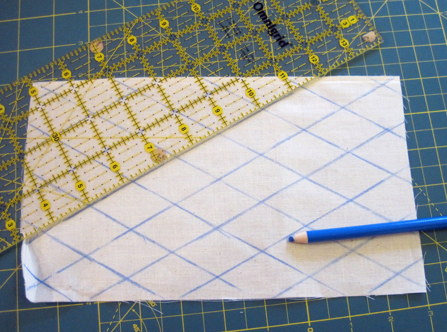 Drawing Lines For Quilting : Easy quilted sleep mask tutorial the stitcheratithe