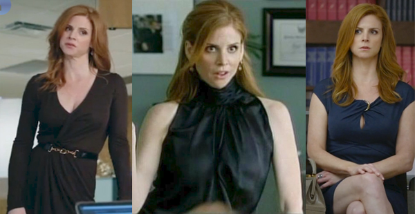 Donna Paulsen Suits outfits