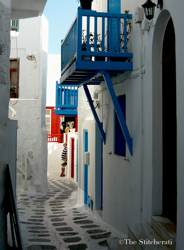 Alley in Mykonos Town
