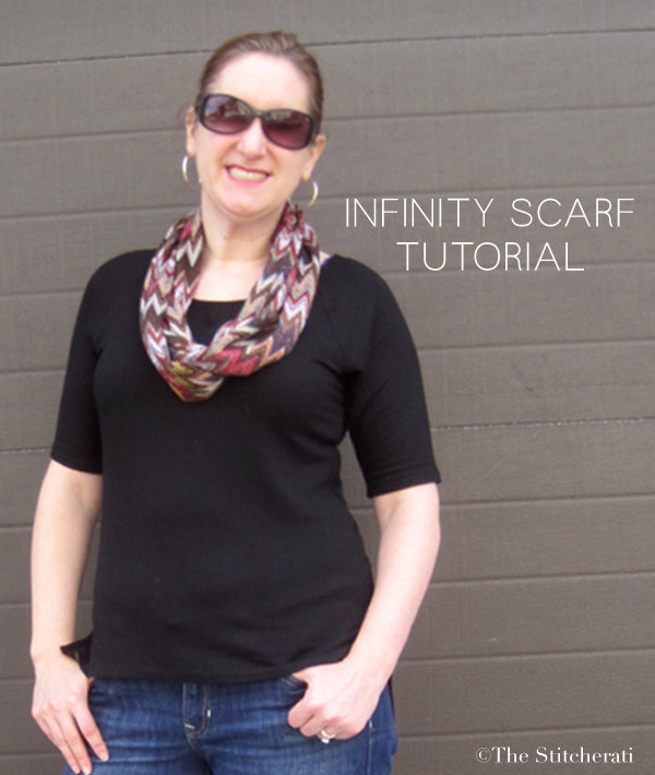 Infinity Scarf Tutorial title
