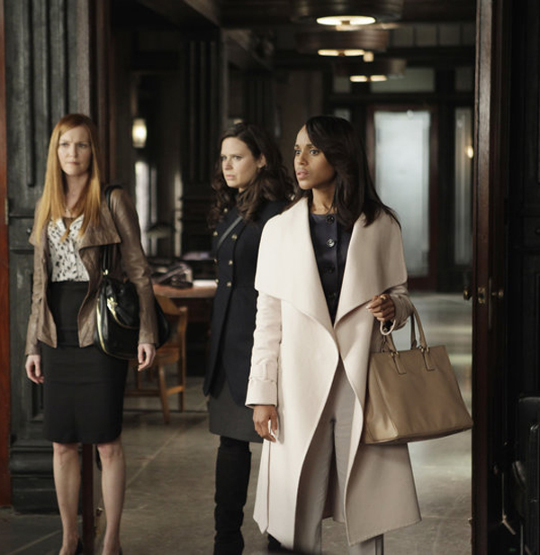 Olivia Pope's Salvatore Ferragamo coat from Season 2 (photo credit: ABC/Nicole Wilder)