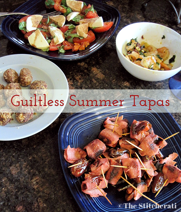 Summer Entertaining - Guiltless Tapas
