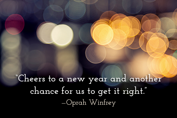 Oprah Winfrey New Years quote